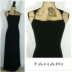 VINTAGE TAHARI LONG Formal~ DRESS